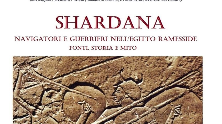 SHARDANA, navigatori e guerrieri nell'Egitto ramesside, fonti, storia e mito
