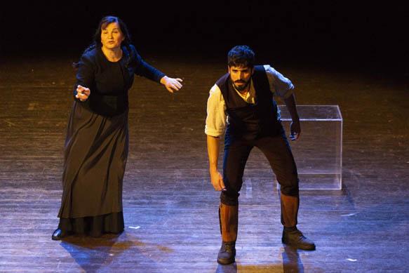 """Theandric Teatro Nonviolento di scena a Lanusei con """"La vedova scalza"""""""