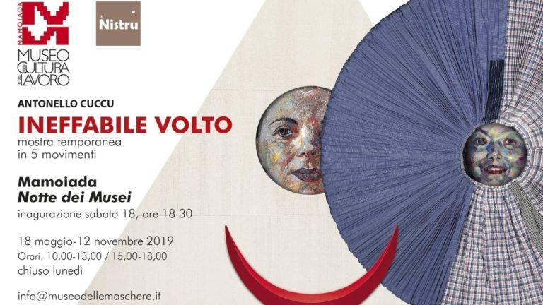 INEFFABILE VOLTO, mostra temporanea in cinque movimenti di Antonello Cuccu al Museo della Cultura e del lavoro di Mamoiada