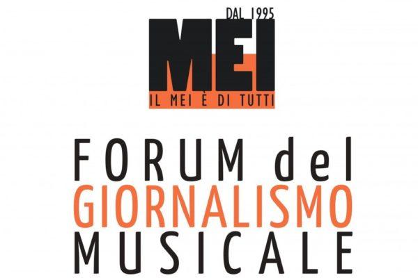IL 'FORUM DEL GIORNALISMO MUSICALE' IL 5 E 6 OTTOBRE AL MEI DI FAENZA
