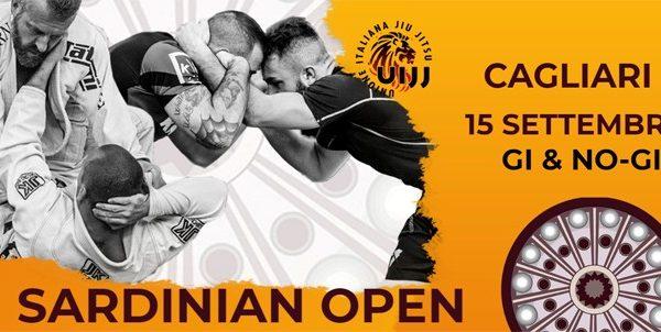 """Domenica 15 settembre a Cagliari la terza edizione del """"Sardinian Open"""", manifestazione internazionale dedicata al Jiu Jitsu Brasiliano"""