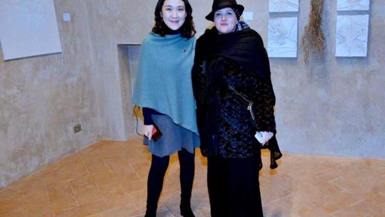 L'ARTISTA MARIA JOLE SERRELI OSPITE DELLA INTERNATIONAL CERAMICS FORM SU INVITO DEL GOVERNO CINESE