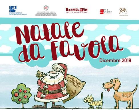 """Dal 4 al 29 dicembre a Cagliari la prima edizione della rassegna natalizia di teatro per ragazzi e famiglie  """"Natale da favola"""""""
