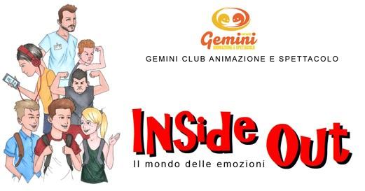 """Il 9 febbraio a Selargius va in scena """"Inside Out – Il mondo delle emozioni"""""""