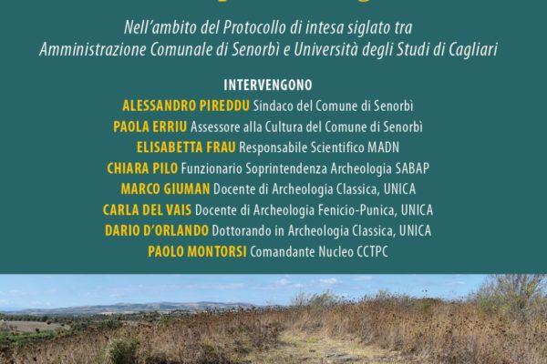 """""""Frammenti di storia da Santu Teru, dati di una prima ricognizione"""": conferenza al MADN di Senorbì"""