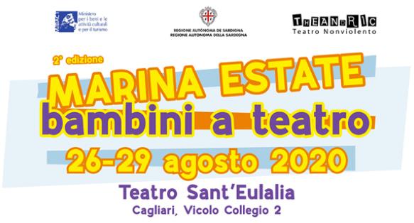 """Dal 26 al 29 agosto  negli spazi all'aperto del Teatro Sant'Eulalia di Cagliari  va in scena la seconda edizione di """"Marina Estate"""""""