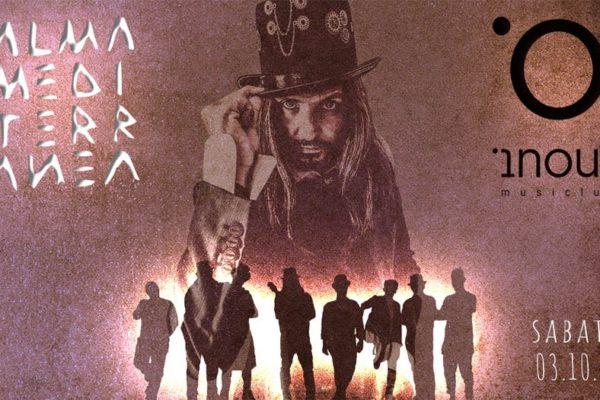 Gli Almamediterranea tornano in scena sabato 3 ottobre all'INOUT Musiclub di Cagliari