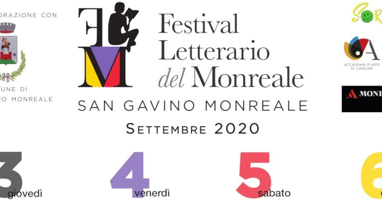 Comincia oggi a San Gavino il FESTIVAL LETTERARIO DEL MONREALE