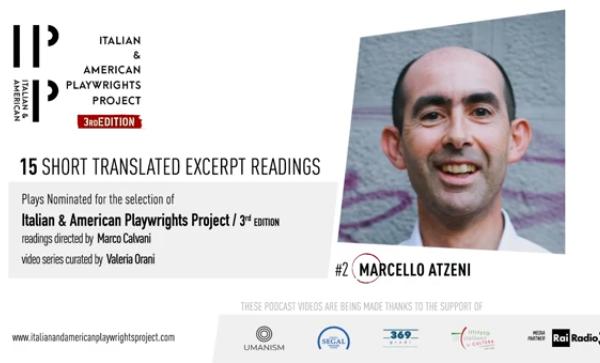 Il giornalista Marcello Atzeni finalista della terza edizione di Italian & American Playwrights Project