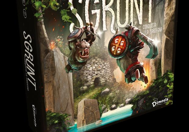 Arriva SGRUNT, il nuovo gioco da tavolo nato e ambientato in Sardegna