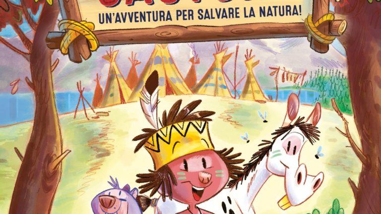 """Da oggi in libreria """"Coda di Castoro"""", il nuovo libro di Daniele Mocci illustrato da Luca Usai"""