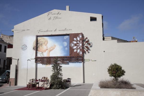 """A Ittiri, l'installazione artistica """"Una terra dove nascono le stelle"""""""